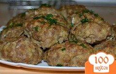 Фото рецепта: «Котлеты мясные с овсяными хлопьями»