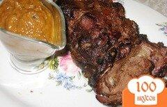 Фото рецепта: «Жареное мясо дикой козы»