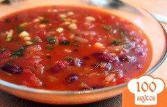 Фото рецепта: «Суп с фасолью и мясом»