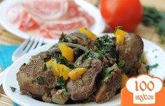 Фото рецепта: «Печень с овощами»