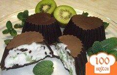 Фото рецепта: «Творожок в шоколаде»