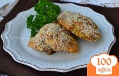 Фото рецепта: «Куриные бедрышки под горчичной корочкой»