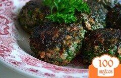 Фото рецепта: «Котлетки в панировке из свежей зелени»