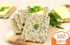 Фото рецепта: «Хлебцы щедрые ржаные»