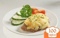 Фото рецепта: «Мясо с сыром в мультиварке»