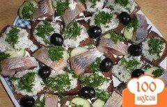 Фото рецепта: «Бутерброды с салом»