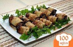 Фото рецепта: «Печень с баклажанами»