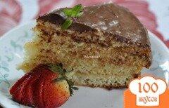 """Фото рецепта: «Кремовый торт """"Бостон """"»"""