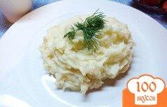 Фото рецепта: «Картофельное пюре с сулугуни»