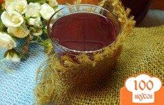 Фото рецепта: «Компот сливово-виноградно-яблочный с фенхелем и кориандром»