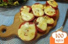 Фото рецепта: «Помидоры запеченные с розмарином и сулугуни»