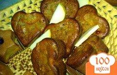Фото рецепта: «Кексы с яблочным вареньем»