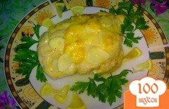 Фото рецепта: «Куриное филе в сыре»