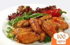 Фото рецепта: «Курица с аджикой и медом»