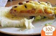 """Фото рецепта: «Мясо """"Дипломат"""" в духовке»"""