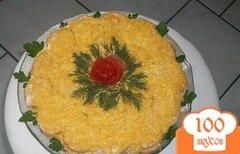 Фото рецепта: «Рыбный салат с крекерами»