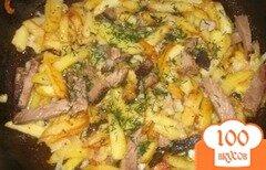 Фото рецепта: «Картошка на сковороде»