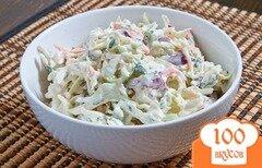 Фото рецепта: «Салат с курицей и ветчиной»