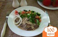 Фото рецепта: «Говяжий люля-кебаб с моцареллой»