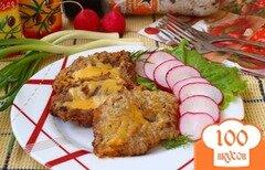 Фото рецепта: «Отбивные из телятины с сыром»