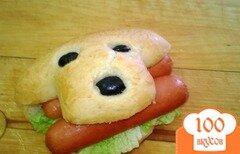 Фото рецепта: «Оригинальная булочка для хот-догов, гамбургеров, бутербродов»