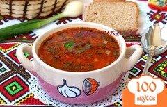 Фото рецепта: «Рисовый суп с томатом»