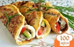 Фото рецепта: «Бризоль с овощами»