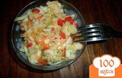 Фото рецепта: «Легкий салат с капустой»
