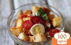 Фото рецепта: «Салат с курицей и яйцом»