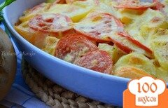 "Фото рецепта: «Овощная запеканка ""Осенняя""»"