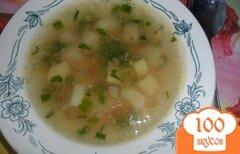 Фото рецепта: «Легкий куриный суп с гречкой»