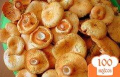 Фото рецепта: «Засолка грибов рыжиков холодным способом»