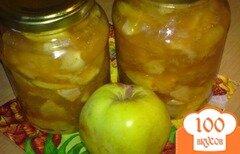 Фото рецепта: «Яблочное варенье с лимоном и имбирем»