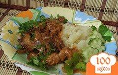 Фото рецепта: «Свинина по-строгановски»
