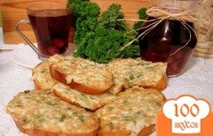 Фото рецепта: «Луково-яичные бутерброды»