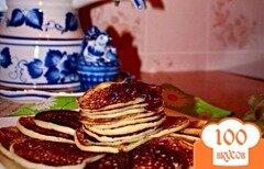Фото рецепта: «Оладушки кружевные как у бабушки»