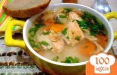 Фото рецепта: «Суп из хребта лосося с рисом»