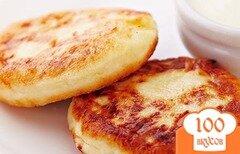 Фото рецепта: «Творожные сырники с ягодами Годжи»