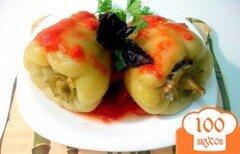 Фото рецепта: «Перец зелёный фаршированный»