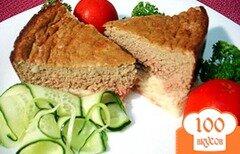 Фото рецепта: «Печёночное суфле на картофельной подушке»