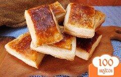 Фото рецепта: «Слоеные бутербродные хлебцы с орегано»