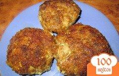 Фото рецепта: «Котлеты из мясного фарша с картофелем»