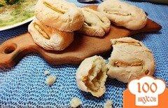 Фото рецепта: «Булочки с кабачком, тимьяном и шафраном»