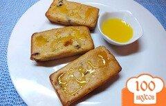 Фото рецепта: «Сливовые кексы с творогом и медом»