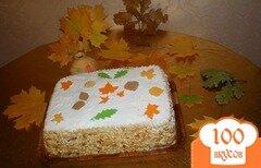 """Фото рецепта: «Торт """"Листопад""""»"""