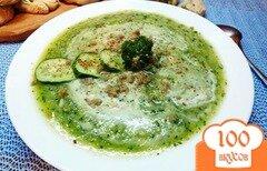 Фото рецепта: «Крем-суп из огурца и цветной капусты»
