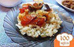 Фото рецепта: «Макароны с печеными овощами»