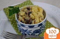 Фото рецепта: «Давленый картофель с грибами»