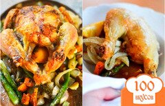 Фото рецепта: «Цыпленок с овощами по-викингски»