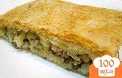Фото рецепта: «Пирог с мясом и рисом»